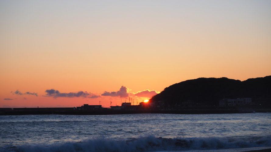 阿字ヶ浦海水浴場は浜辺で見られる絶好の初日の出スポット!【茨城】おすすめスポット