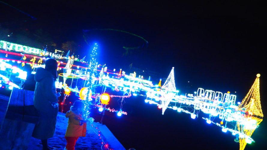 榛名湖イルミネーションフェスタは期間限定で湖が彩られる光のお祭り!【群馬】おすすめスポット