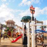 しらこばと水上公園にそびえ立つおもしろ複合巨大遊具コバトンの森!【埼玉】おすすめスポット