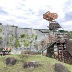 箕郷ふれあい公園は恐竜や宇宙の遊具と駄菓子屋の売店が楽しい総合公園!【群馬】おすすめスポット